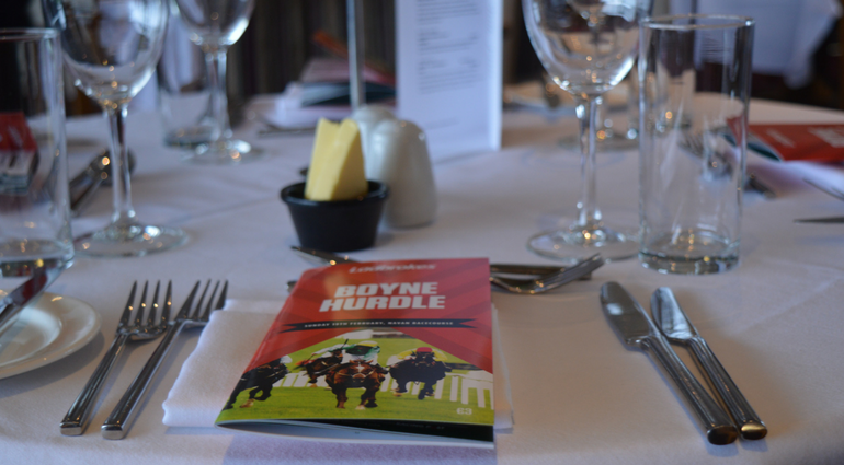 Hospitality Packages at Navan Racecourse